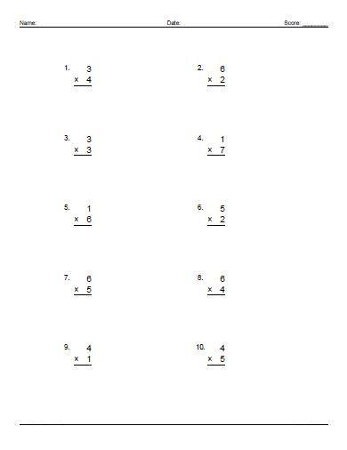 single digit math worksheets editing | Printable | Pinterest | Math ...