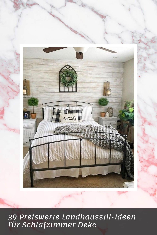 39 Preiswerte Landhausstil Ideen Fur Schlafzimmer Deko In 2020