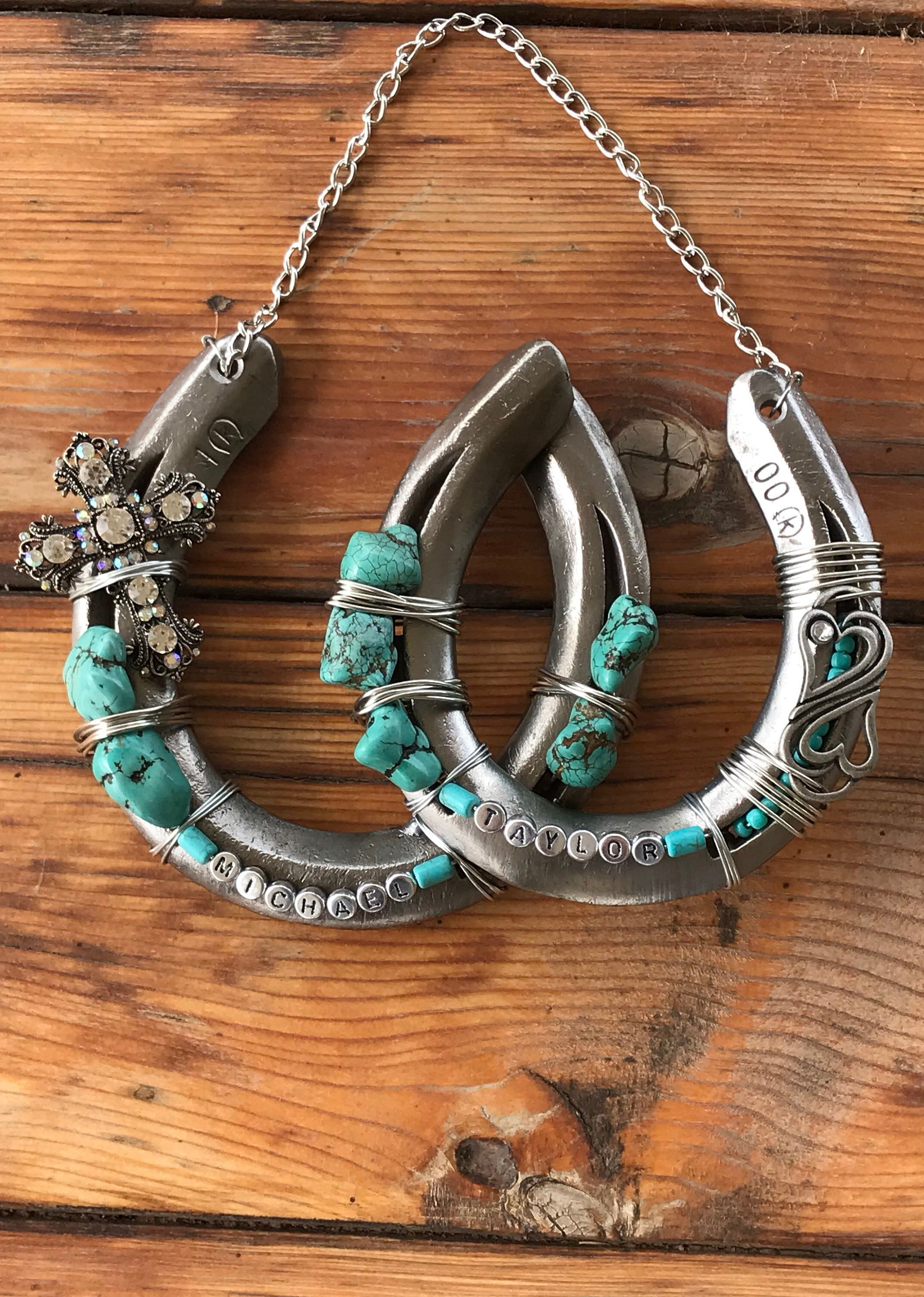 Wedding Gift Decorated Horseshoe Gift For Couple Good Luck