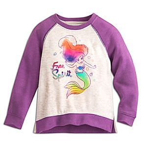e2320fa38fa Ariel Raglan Sleeve Sweatshirt for Kids