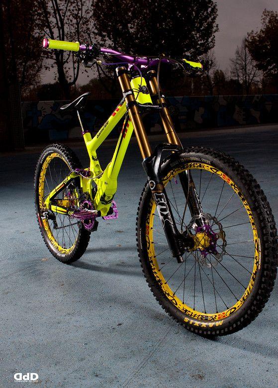 Banshee Legend MkII 2013 Fluo/Purple - marci0's Bike Check - Vital MTB.  Colors !!