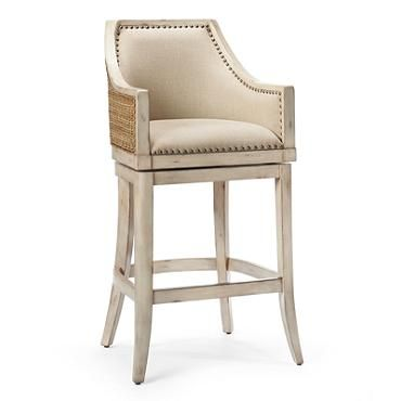 Sheldon Counter Height Bar Stool 24 H Seat Frontgate 599
