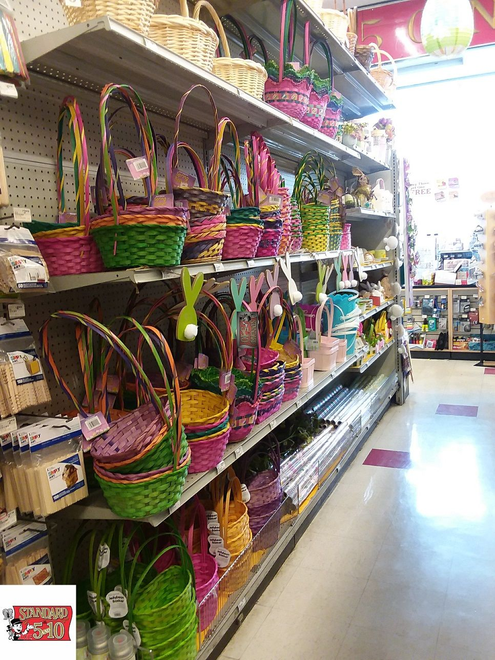 Easter baskets were a suprise but you do know that you
