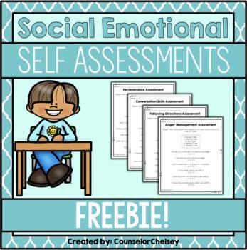 Social Emotional Self Assessments (FREE!) Social