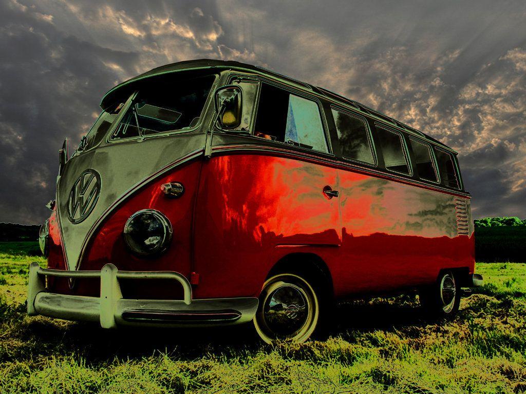 Cool Volkswagen Combi Hd Wallpaper