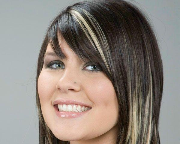Peekaboo Hair Styles: Blondehair 30 Sumptuous Black Hair With Blonde Highlights
