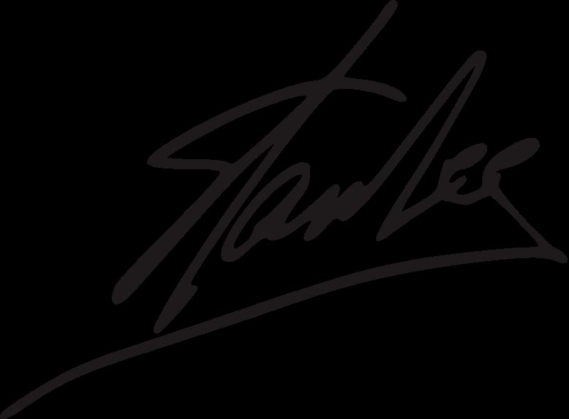 Signature Of Stan Lee Stan Lee Wikipedia A Enciclopedia Livre Stan Lee Lee