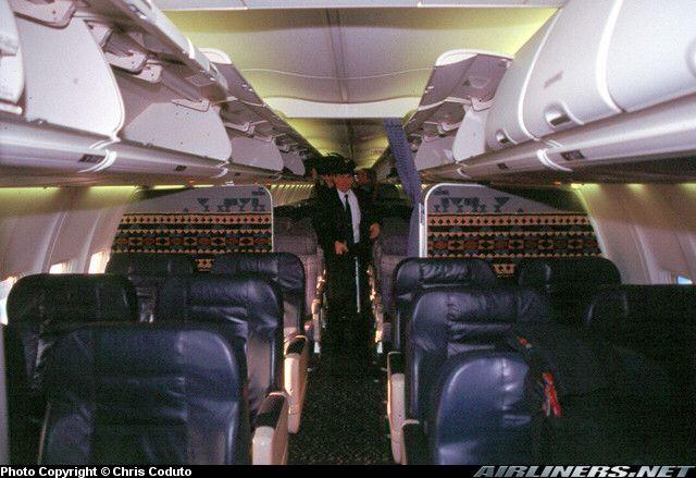 1990s Alaska Airlines First Class Inside Alaska Airlines