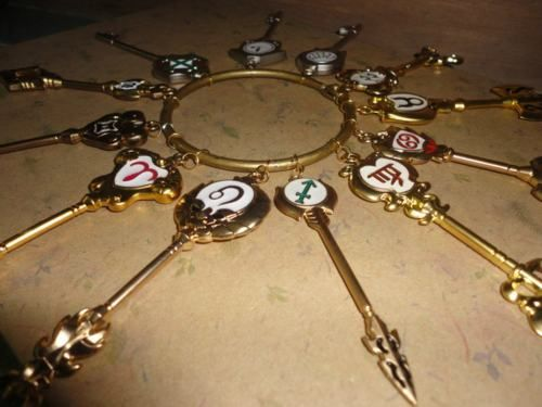 Fairy Tail celestial spirit gate keys. I need these! And so does my friend Jazzehhhhh ^3*