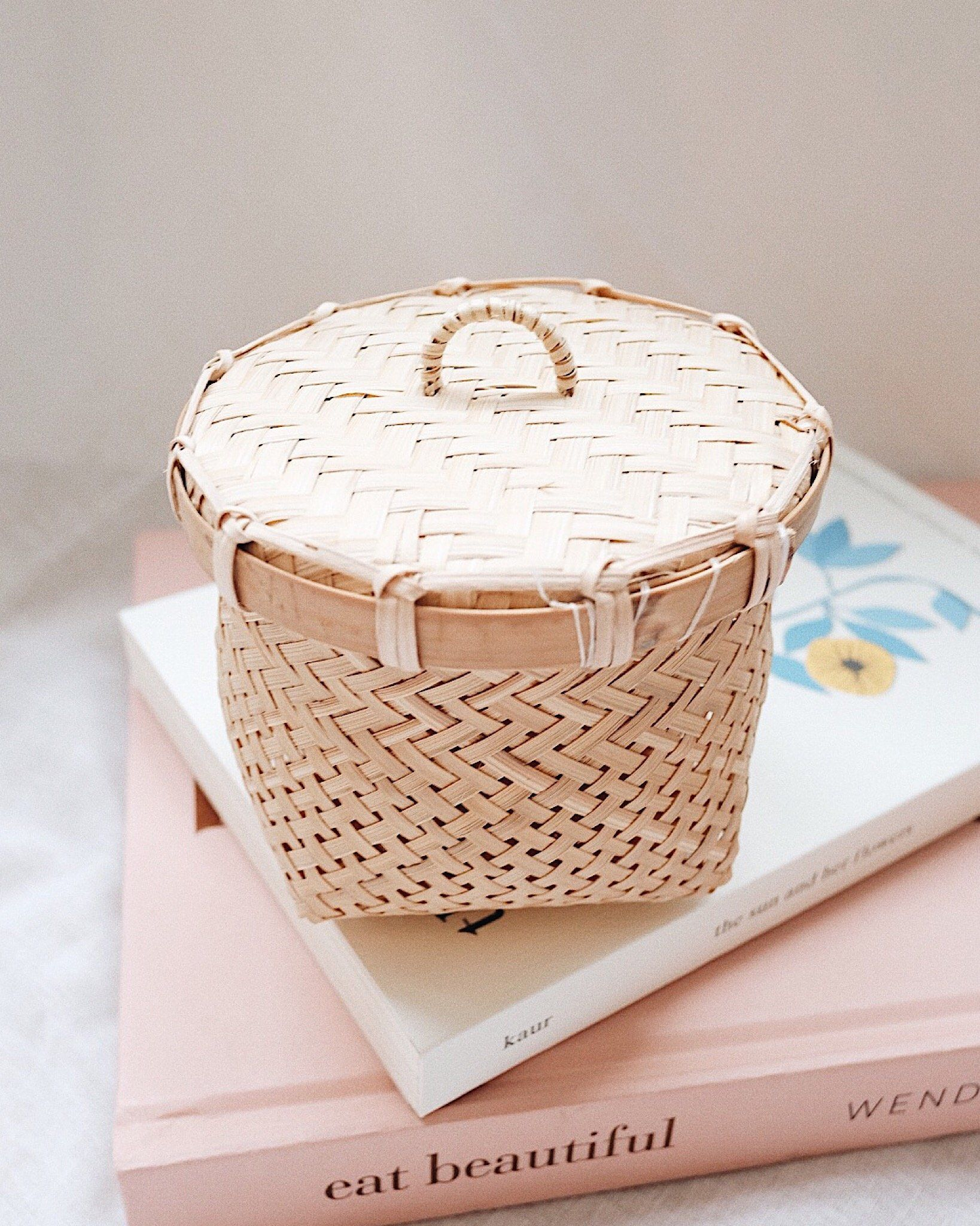 Moon Bamboo Storage Box With Lid Storage Boxes With Lids Box