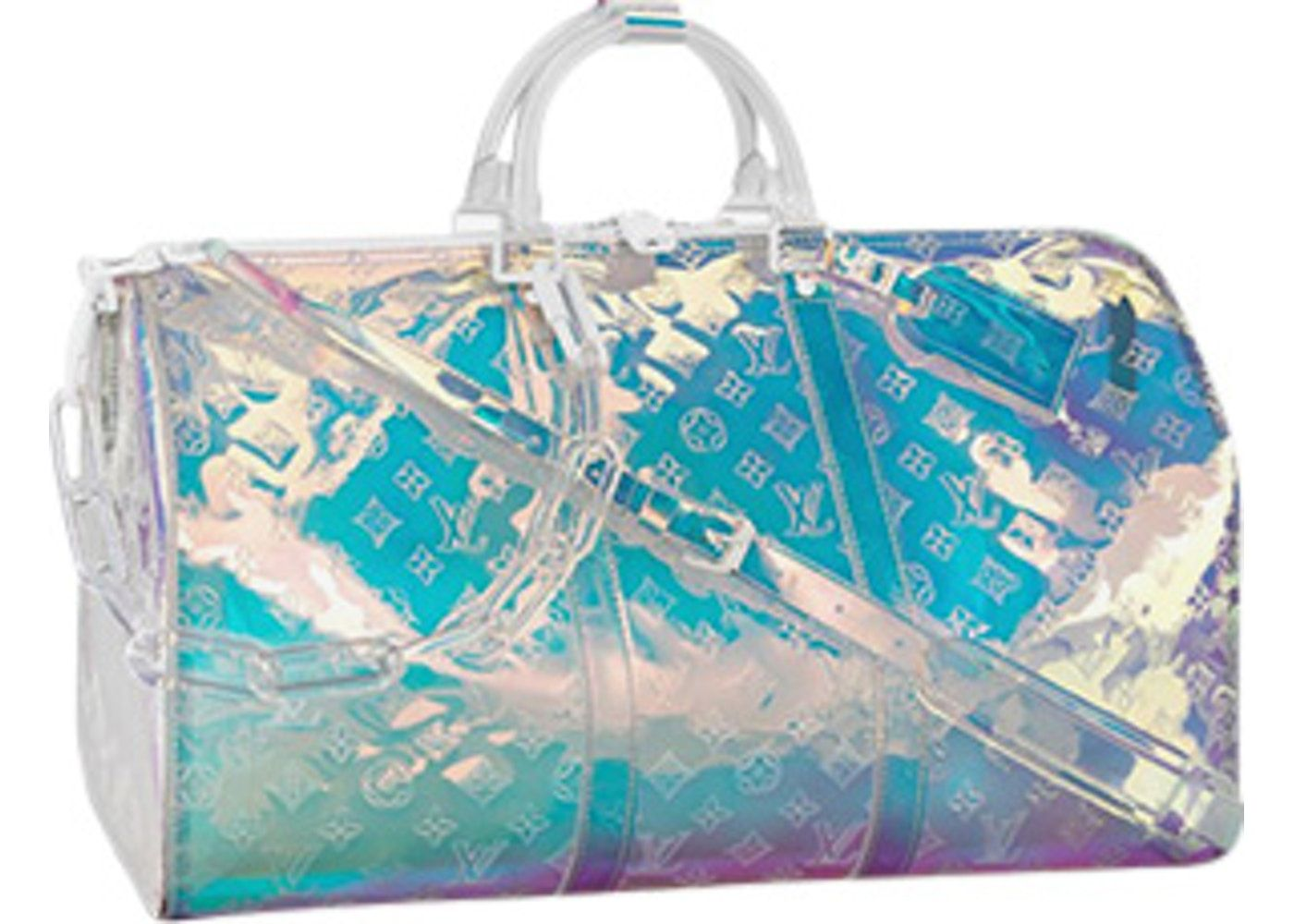 Louis Vuitton Keepall Bandouliere Monogram 50 Prism In 2020