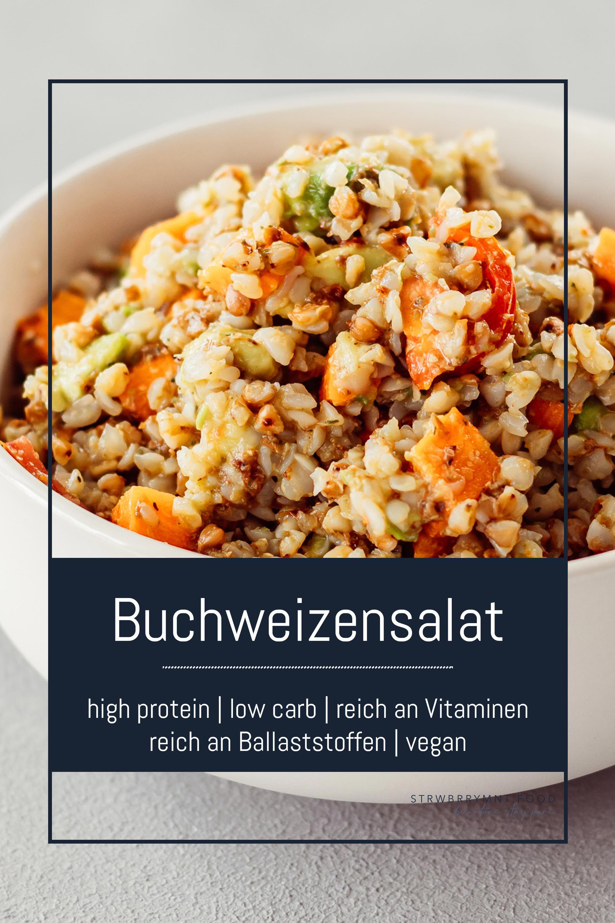Buchweizen Salat Rezept