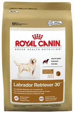 Royal Canin Labrador Retriever Food Features A Unique Kibble Shape