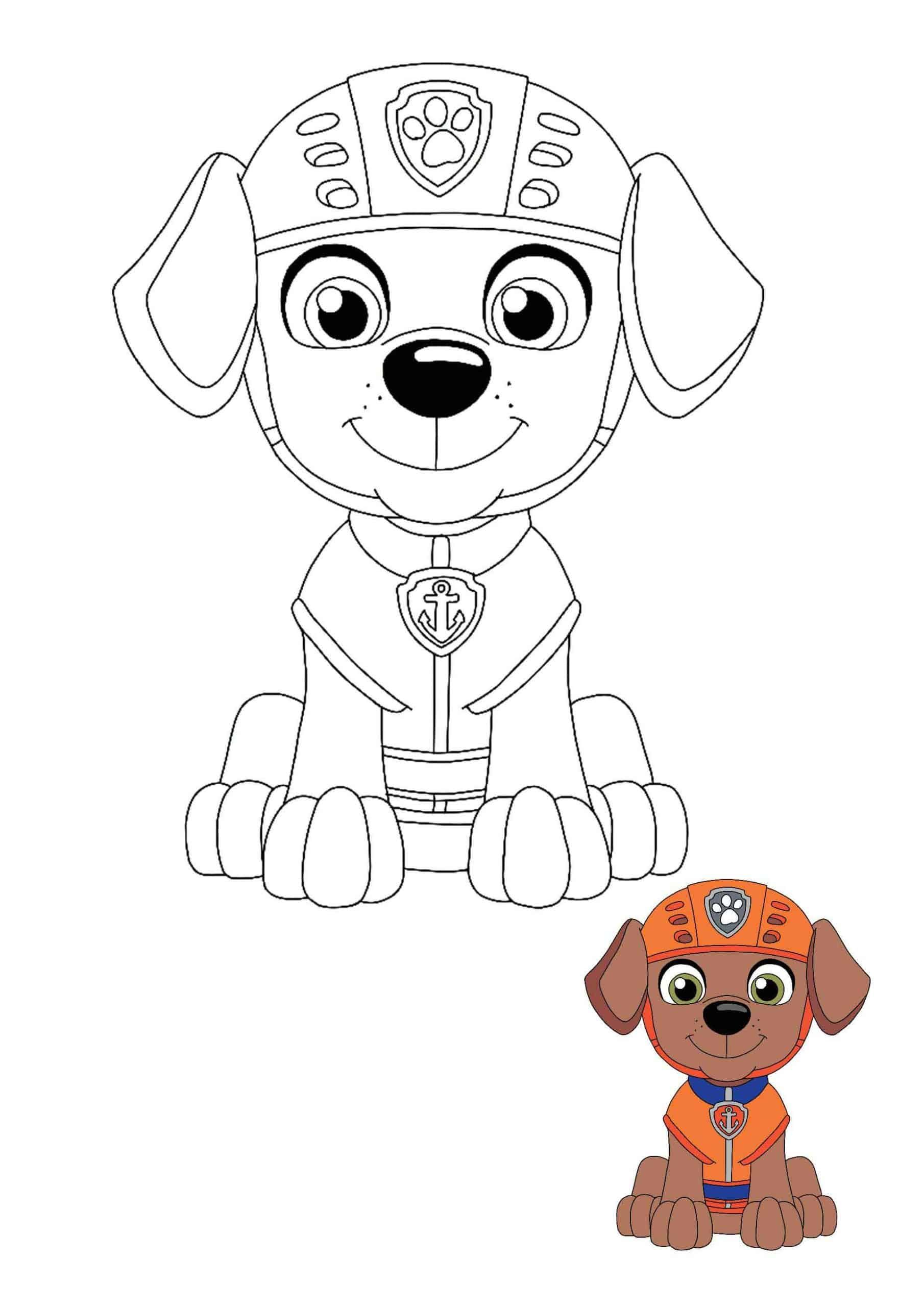 Paw Patrol Zuma Coloring Pages Paw Patrol Coloring Pages Paw Patrol Coloring Zuma Paw Patrol