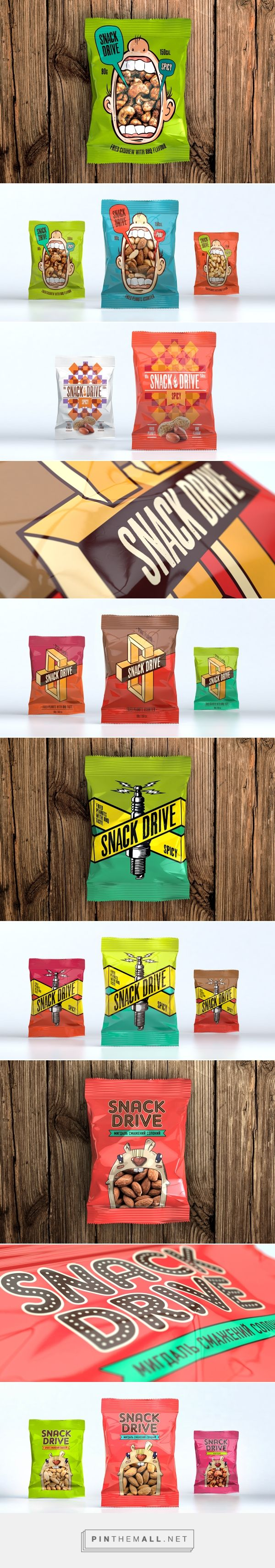Snacks Packaging Pitch on Behance curated by Packaging Diva PD. Great collection of fun proposed snack packaging.
