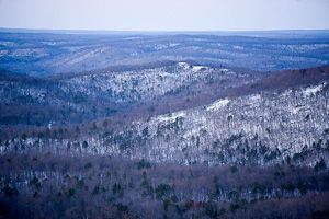 Stegall Mountain Natural Area in Shannon County, Mo.   Missouri Department of Conservation