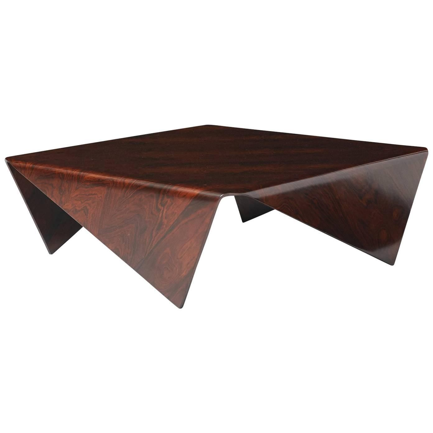 Andorinha Table By Jorge Zalszupin Cocktail Tables Square Glass Side Table Glass Coffee Table [ 1392 x 1392 Pixel ]