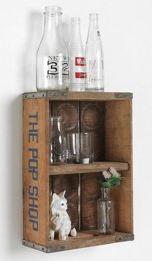 22 Simple Wood Crate DIY Ideas