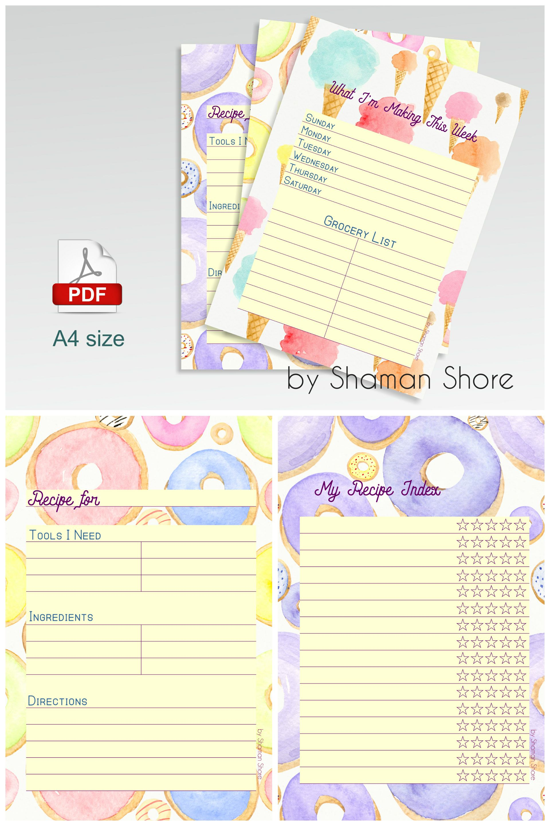 blank recipe cards for kids fun printable recipe pages for kids