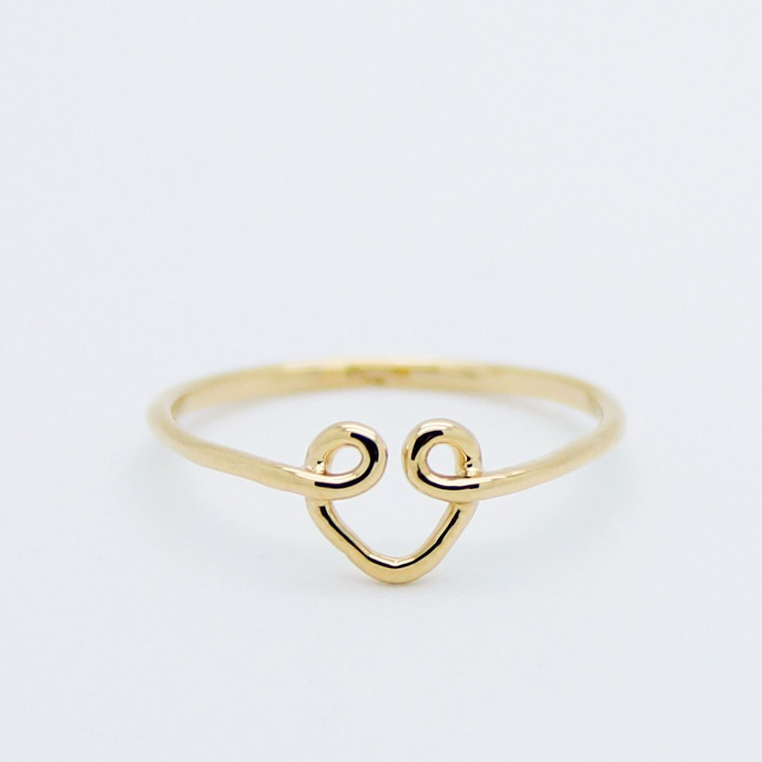 Heart wire knuckle ring | diy, crafts and gift ideas | Pinterest ...