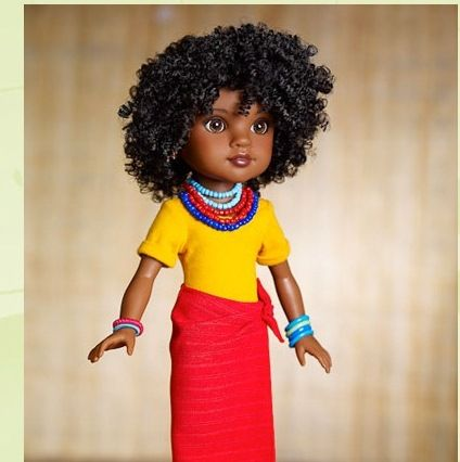 Wondrous 1000 Images About Curly Dolls On Pinterest Black Barbie Curly Short Hairstyles For Black Women Fulllsitofus