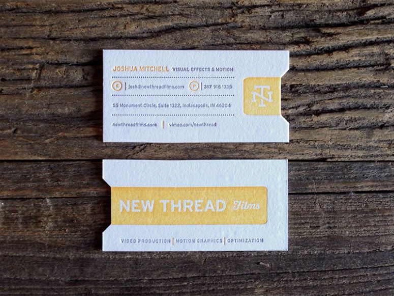 New thread films business cards miles designs film canister label new thread films business cards miles designs film canister label inspired business card for indianapolis reheart Choice Image