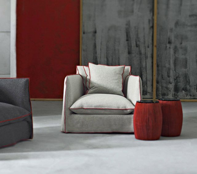 Garvasoni Ghost Armchair by Paola Navone chairs sofas