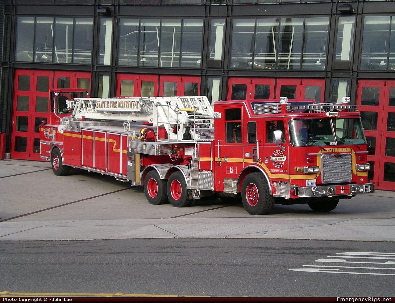 Seattle Fire Dept Pierce Arrow Xt Heavy Duty Tiller