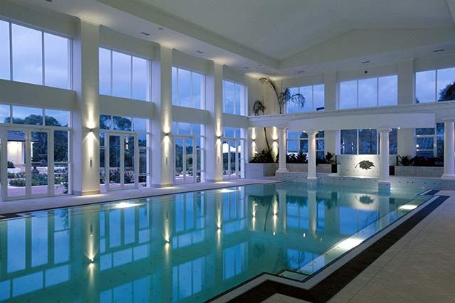 #luxury #Indoor #pool Chateau Architects+Builders