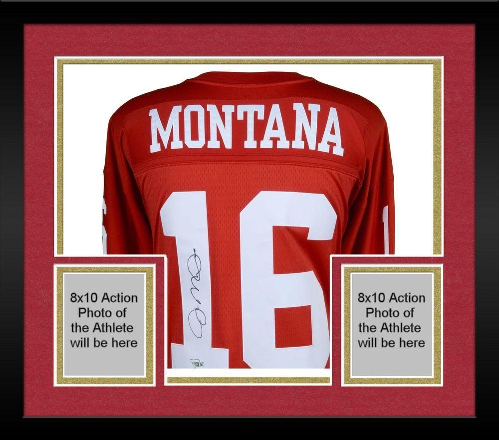 545384af0 Autographed Joe Montana 49ers Jersey Fanatics Authentic COA Item 9133189  Football Jerseys
