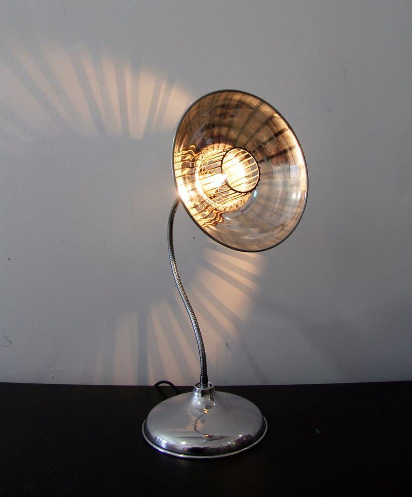 Schön Arbeits Schreib Nacht Tisch Lampe Gitter Käfig Korb Leuchte Vintage  Schwanenhals In Möbel U0026 Wohnen,
