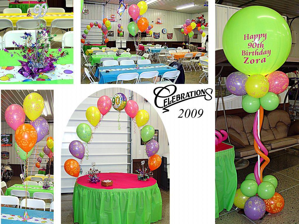 90th B-Day 2009 provided by Celebrations Delphos 45833 & 90th B-Day 2009 provided by Celebrations Delphos 45833 | Party Ideas ...
