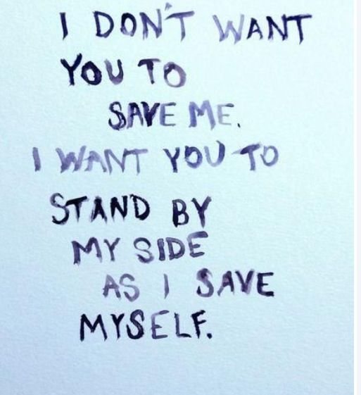Do not save me stand by me