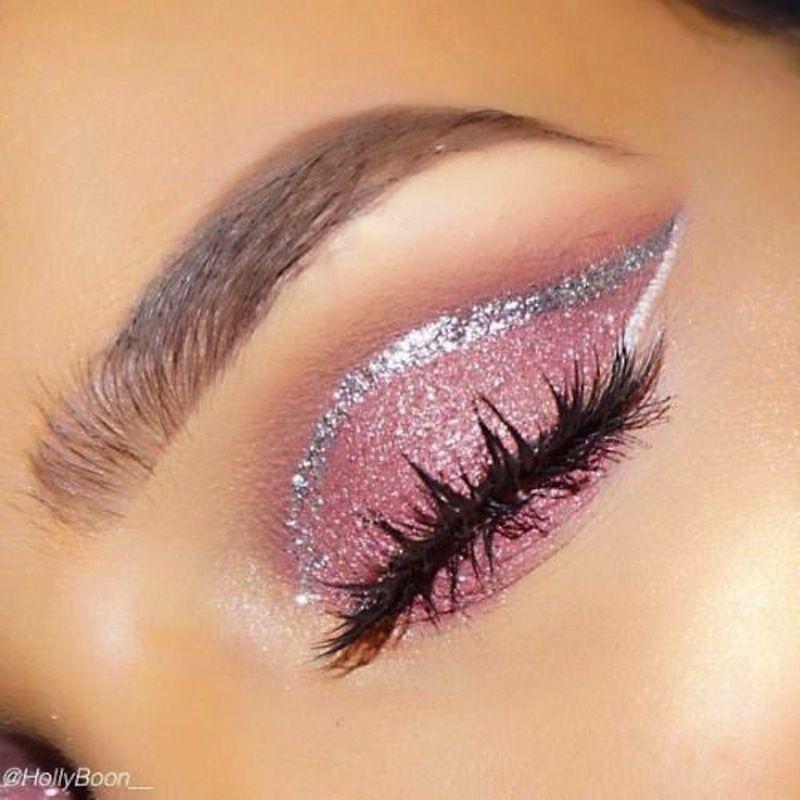 15 divertidos tutoriales de maquillaje con purpurina  – Maquillaje