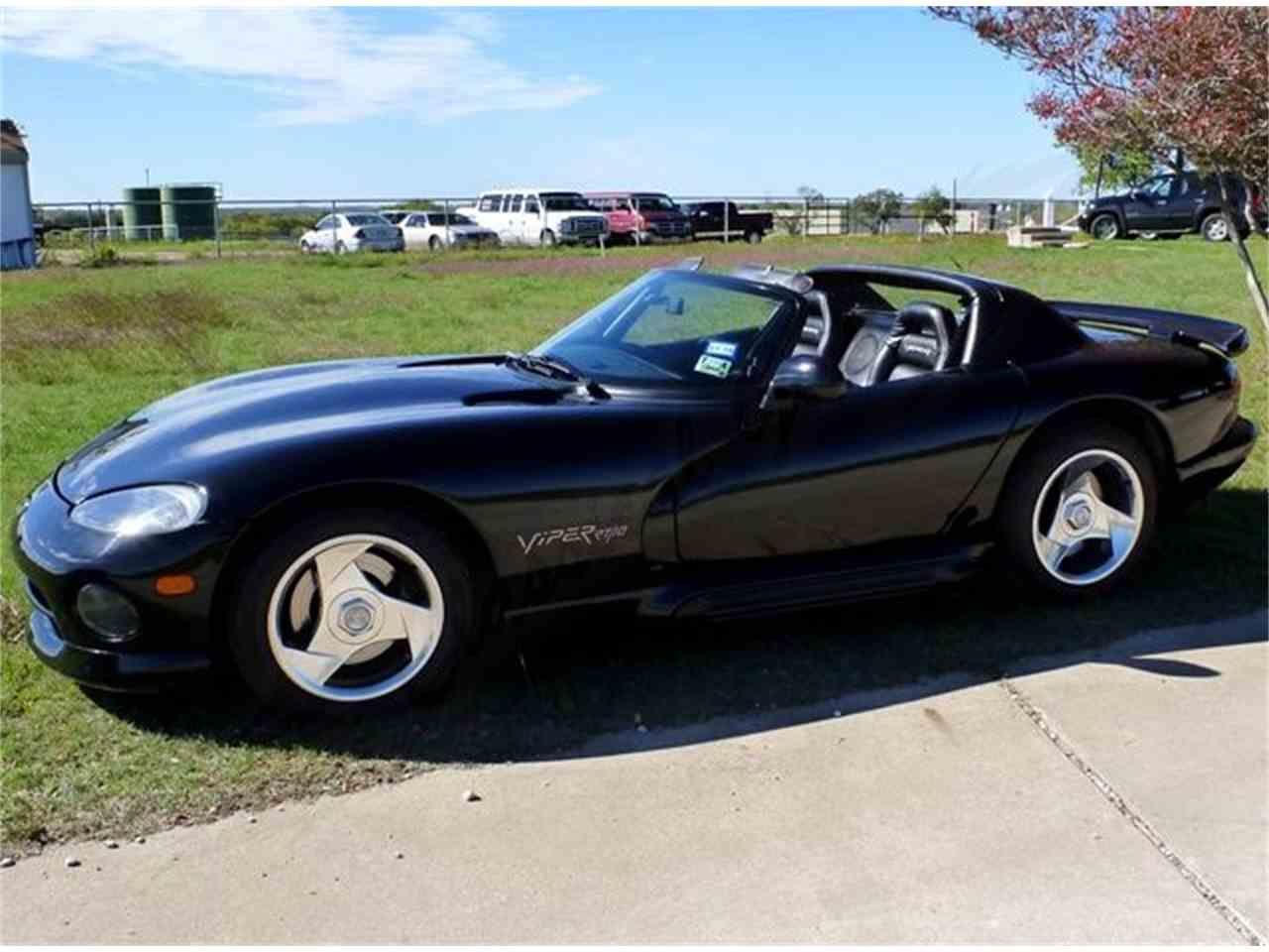 Large Photo Of 95 Viper A582 Dodge Viper Classic Motors