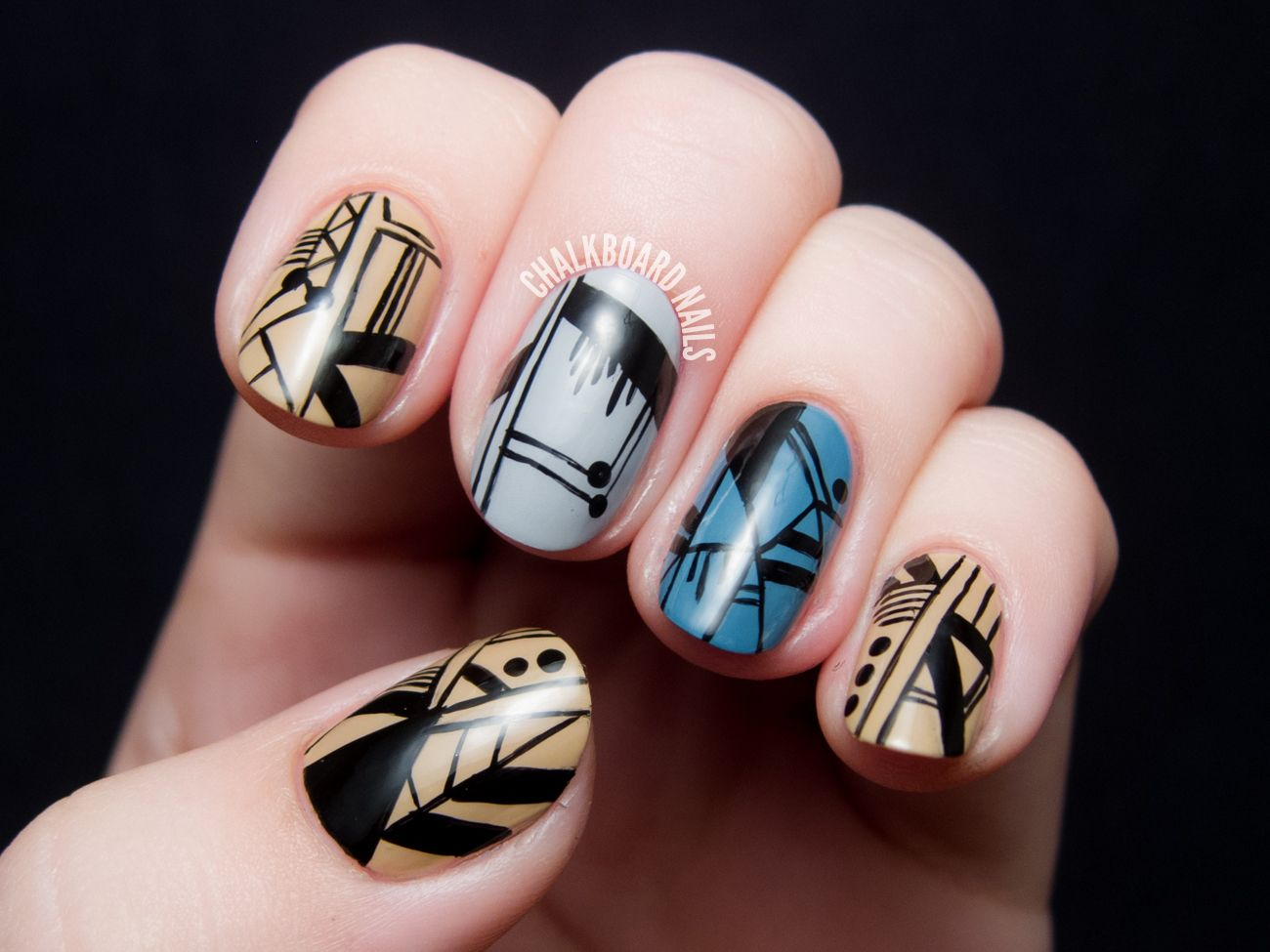 Spifster Inspired Delicate Line Nail Art | Delicate, Nails ...