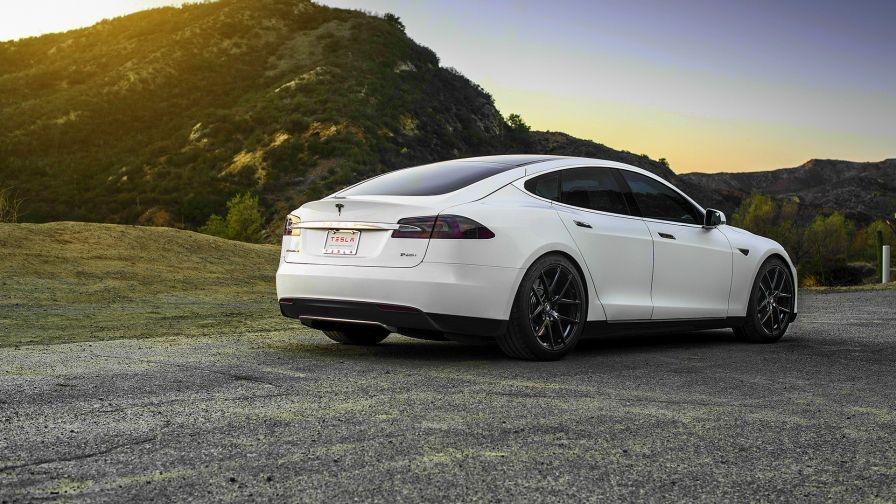 43+ Tesla model 3 white wallpaper High Resolution
