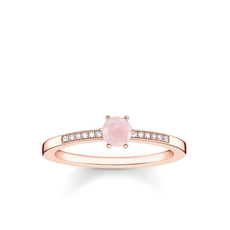 Ring In 2020 Delicate Rings Thomas Sabo Rose Gold