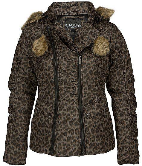 Daytrip Animal Print Coat my new winter coat!! | shit i
