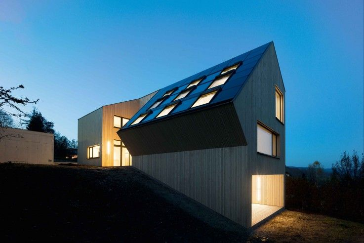 Co2 neutrales holzhaus architecture pinterest for Holzhaus moderne architektur