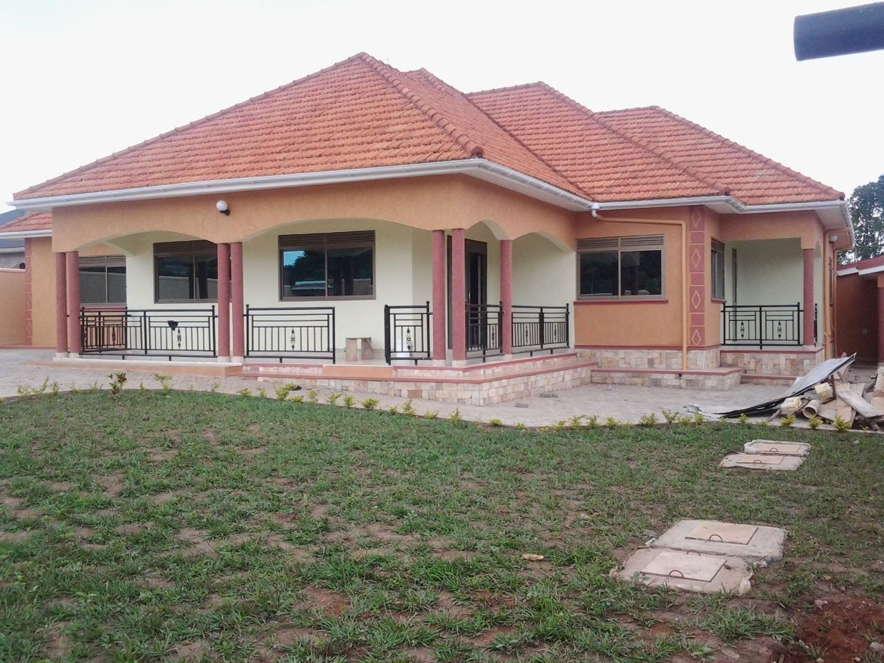 Nice Bungalow Houses In Uganda With House Plans Uganda Architectural House Plans Beautiful House Plans House Plan Gallery