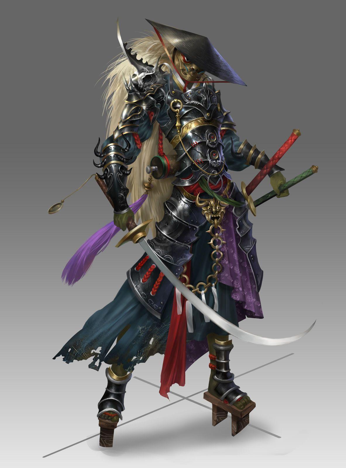 Samurai | Samurai art, Fantasy samurai, Samurai armor