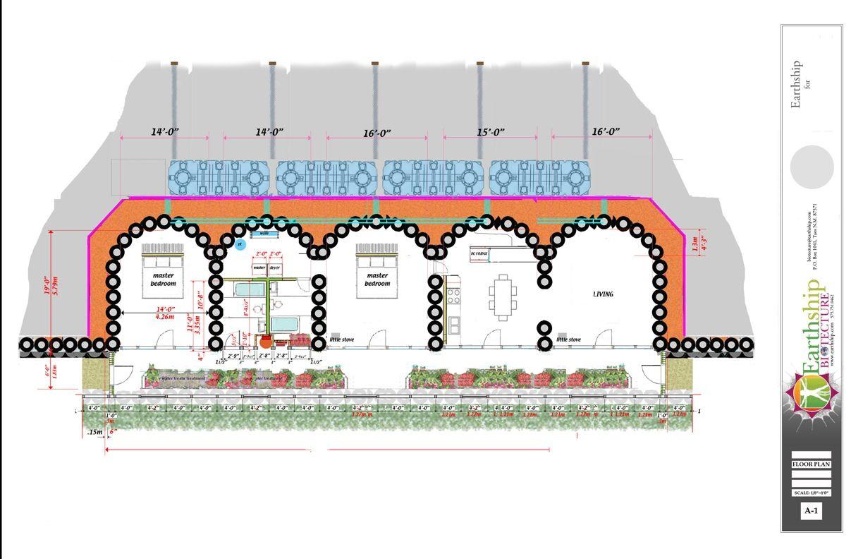Earthship Home Floor Plans: Earthship Construction