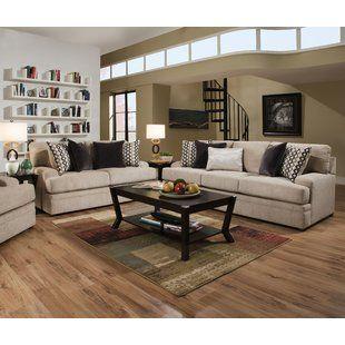 darby home co nakia 2 piece living room set wayfair remodel in rh pinterest com