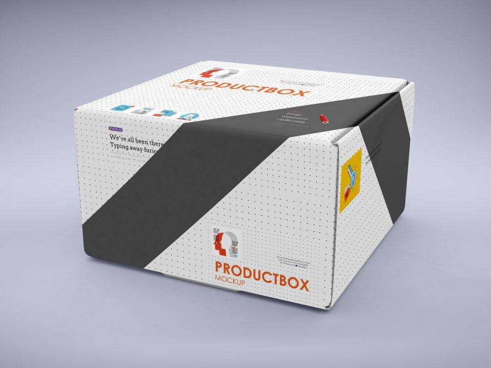 Download Square Box Mockup Free Mockup Box Mockup Mockup Psd Mockup Free Psd