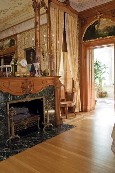 Dining Room Fireplace  Pabst Mansion On Grand Avenue In Milwaukee Extraordinary Mansion Dining Rooms Design Inspiration