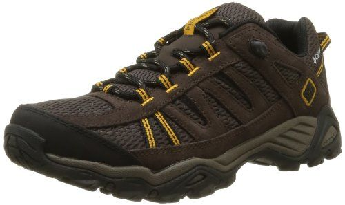Columbia Zapato Redmond Trail para hombres, Pebble / Dark Ginger, 14 M US