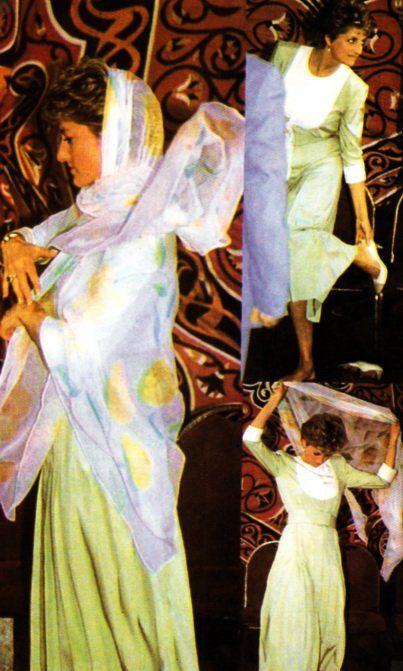 PRINCESS DIANA - EGYPTE Mai 1992 _ SUITE