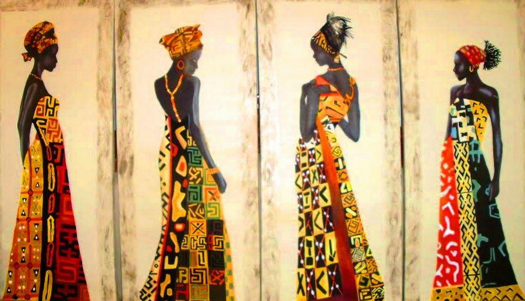 Escenas Etnicas Africanas - Buscar Con Google