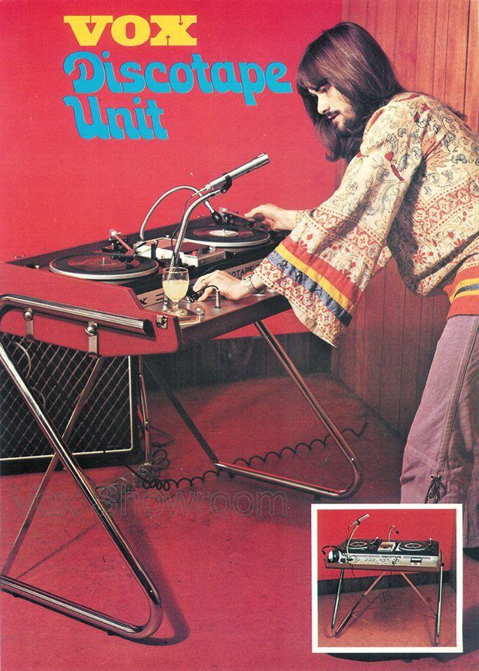 Vox Discotape Unit   1971  f035ff6d15